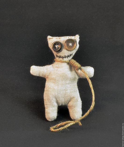 Брелоки ручной работы. Ярмарка Мастеров - ручная работа. Купить Крошка-вуду. Handmade. Бежевый, страшилка, смешная игрушка