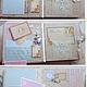 Фотоальбомы ручной работы. Нежный альбом для малышки. Marina Lampetova. Интернет-магазин Ярмарка Мастеров. Альбом для малышки, подарок на крестины