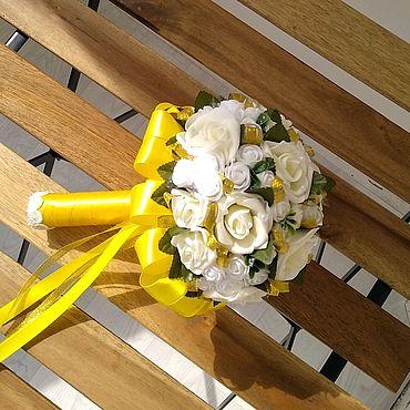 Свадебный салон ручной работы. Ярмарка Мастеров - ручная работа Букет-дублер, свадебный букет для невесты. Handmade.