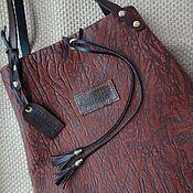 Сумки и аксессуары handmade. Livemaster - original item Bag genuine leather Wild Fox Brownie. Handmade.