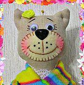 Для дома и интерьера ручной работы. Ярмарка Мастеров - ручная работа Хранительница ватных дисков и палочек (кисюкин). Handmade.
