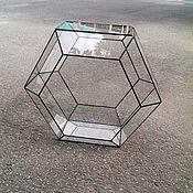 Цветы и флористика handmade. Livemaster - original item The Floriana. Geometric Floriana. Large Floriana. Boxing honeycomb. Handmade.