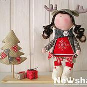 Куклы и игрушки ручной работы. Ярмарка Мастеров - ручная работа кукла ОлЕнька. Handmade.