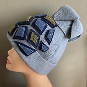 handmade. Livemaster - original item Caps: high cap. Handmade.