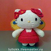 Куклы и игрушки ручной работы. Ярмарка Мастеров - ручная работа Hello Kitty бабочка амигуруми. Handmade.