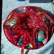 Подарки к праздникам ручной работы. Ярмарка Мастеров - ручная работа Салфетка для кулича и яиц-крашенок. Handmade.