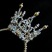 """Свадебный салон ручной работы. Ярмарка Мастеров - ручная работа Корона """"Золотинка"""". Handmade."""