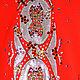 Танцевальные костюмы ручной работы. Купальник (костюм для выступлений) для художественной гимнастики. Ксения (Sport-krasota). Ярмарка Мастеров. Фигурное катание