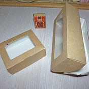Материалы для творчества ручной работы. Ярмарка Мастеров - ручная работа коробки с окном. Handmade.