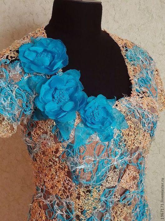 """Платья ручной работы. Ярмарка Мастеров - ручная работа. Купить платье """" К торжеству """". Handmade. Платье нарядное"""