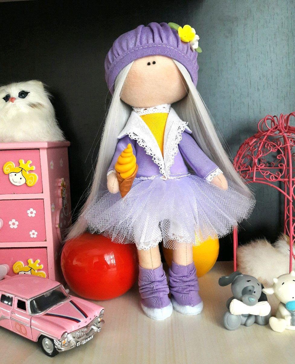 интерьерная кукла ручной работы, Тыквоголовка, Липецк,  Фото №1