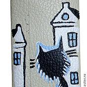Сумки и аксессуары ручной работы. Ярмарка Мастеров - ручная работа Ключница Кот в городе. Handmade.