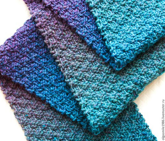Шарфы и шарфики ручной работы. Ярмарка Мастеров - ручная работа. Купить Стильный шарф из натуральной шерсти. Handmade. Комбинированный, однотонный