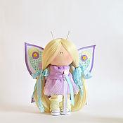Куклы и игрушки handmade. Livemaster - original item Interior textile doll Butterfly. Handmade.