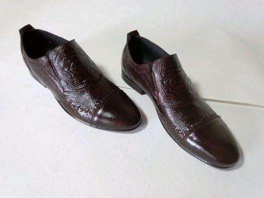 """Обувь ручной работы. Ярмарка Мастеров - ручная работа. Купить Мужская, классическая обувь на каблуки 1см, модель  """"RB"""". Handmade."""