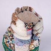 Народная кукла ручной работы. Ярмарка Мастеров - ручная работа Мышь Буся в русском стиле. Handmade.