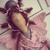 Куклы и игрушки ручной работы. Ярмарка Мастеров - ручная работа Банная феечка Розовая. Handmade.