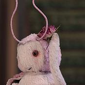 Куклы и игрушки ручной работы. Ярмарка Мастеров - ручная работа Моль тедди Муля. Handmade.