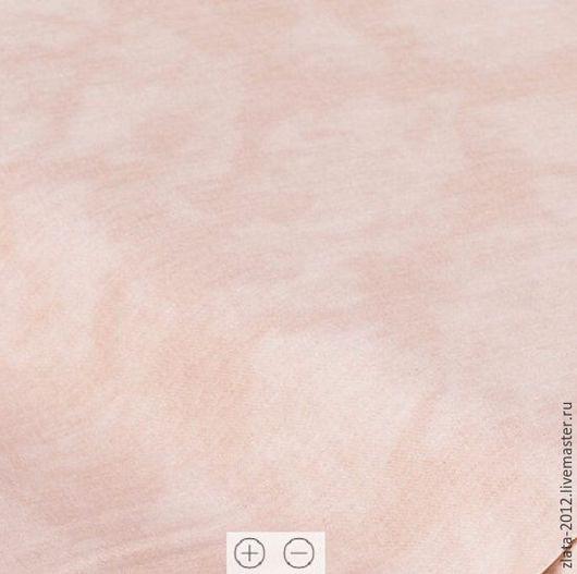 """Шитье ручной работы. Ярмарка Мастеров - ручная работа. Купить Немецкий хлопок""""Нежно кофейная"""". Handmade. Хлопок, ткани для рукоделия"""