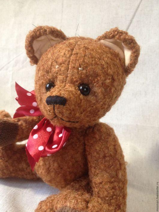 Мишки Тедди ручной работы. Ярмарка Мастеров - ручная работа. Купить Октябрёнок (24 см). Handmade. Коричневый, медвежонок, шплинты