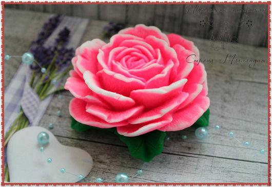 """Мыло ручной работы. Ярмарка Мастеров - ручная работа. Купить Мыло """"Очаровательная роза"""". Handmade. Розовый, 8 марта подарок"""