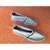 Обувь ручной работы. Ярмарка Мастеров - ручная работа Эспадрильи летние. Handmade.