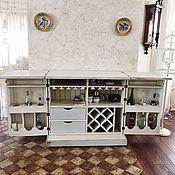 Для дома и интерьера ручной работы. Ярмарка Мастеров - ручная работа Раскладной бар-тумба в стиле Прованс. Handmade.