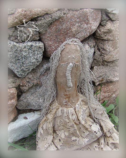 Сказочные персонажи ручной работы. Ярмарка Мастеров - ручная работа. Купить Ангел... с прошлогодними каштанами. Handmade. Авторская кукла