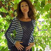 Одежда ручной работы. Ярмарка Мастеров - ручная работа Джемпер Сбор винограда. Handmade.