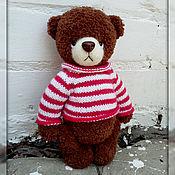 Куклы и игрушки ручной работы. Ярмарка Мастеров - ручная работа медведь Бадди. Handmade.