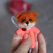 Куклы и игрушки handmade. Livemaster - original item Copyright felted toy Pocket Fox. Handmade.