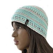 Аксессуары handmade. Livemaster - original item Tiffany`s summer hat. Handmade.