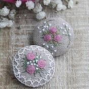 Украшения handmade. Livemaster - original item Pink bouquet. Handmade.