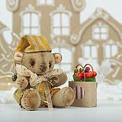 """Куклы и игрушки ручной работы. Ярмарка Мастеров - ручная работа Винтажный мишка """"Письмо из детства"""". Handmade."""
