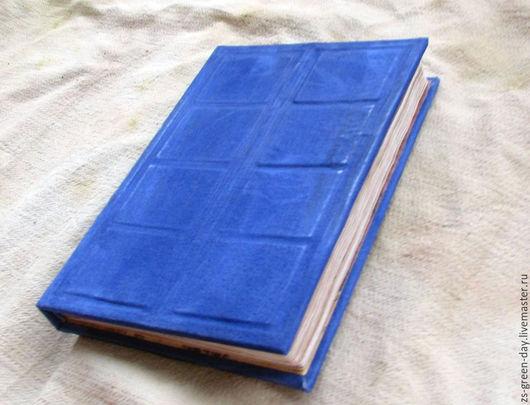 Блокноты ручной работы. Ярмарка Мастеров - ручная работа. Купить Дневник River Song вариация. Handmade. Синий, скрап бумага