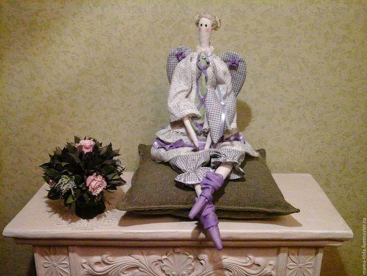 Куклы Тильды ручной работы. Ярмарка Мастеров - ручная работа. Купить Интерьерная кукла в стиле Тильда. Лавандовая Тильда, 62 см. Handmade.