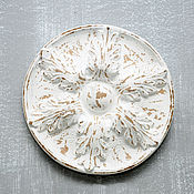 Для дома и интерьера handmade. Livemaster - original item Outlet White flower of concrete in Vintage style the Provence. Handmade.