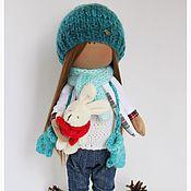 Куклы и игрушки ручной работы. Ярмарка Мастеров - ручная работа Текстильная кукла Кира. Handmade.