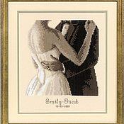 Картины и панно handmade. Livemaster - original item cross stitch Metric wedding. Handmade.