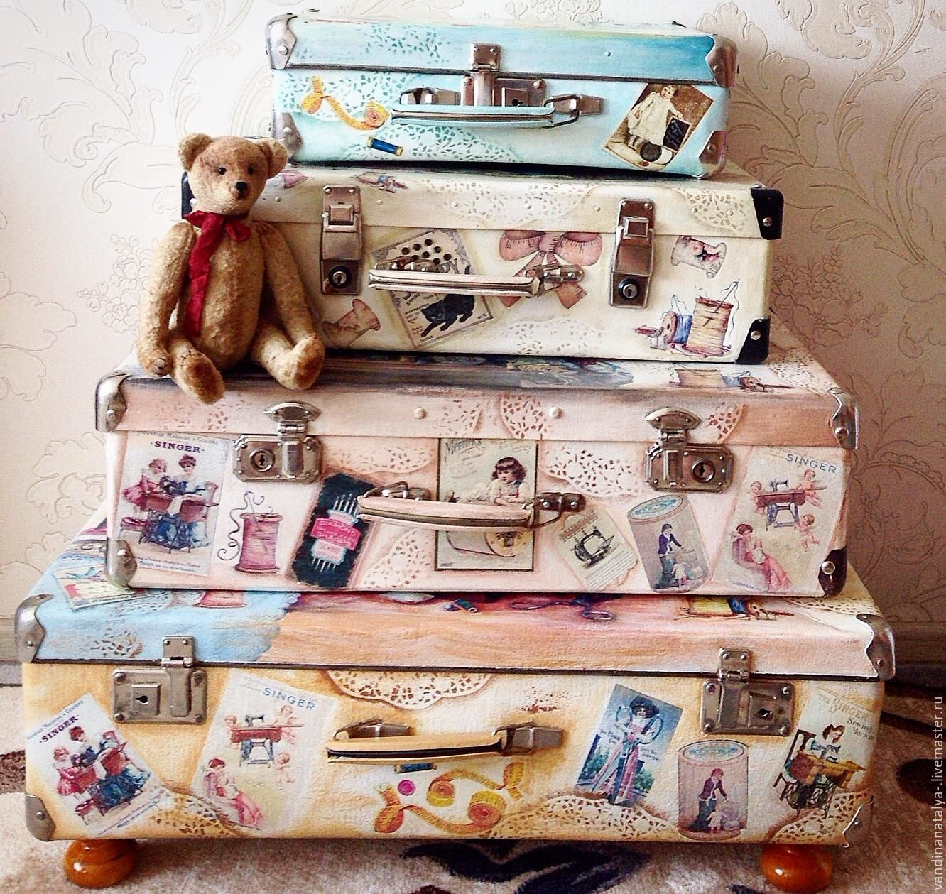 Suitcases for a seamstress ( from small to large), Storage of things, Balakovo,  Фото №1