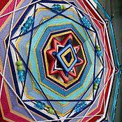 """Фен-шуй и эзотерика ручной работы. Ярмарка Мастеров - ручная работа Живая шаманская мандала """"Найти себя и свое место"""". Handmade."""