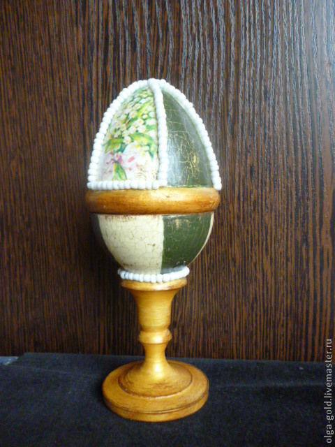 Шкатулки ручной работы. Ярмарка Мастеров - ручная работа. Купить Яйцо шкатулка малая. Handmade. Яйцо, белый, Пасха, подарок