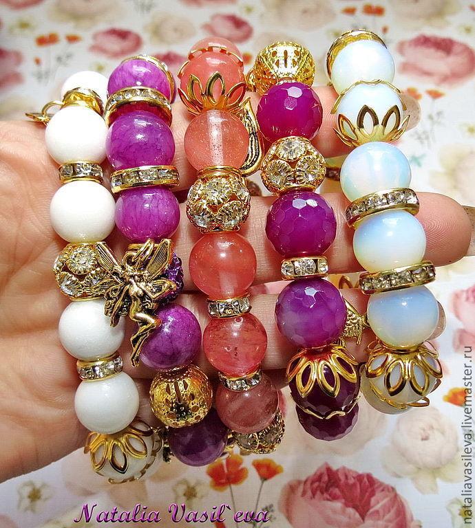 Bracelet 'Summer', Bead bracelet, St. Petersburg,  Фото №1