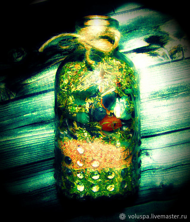 'Witch's bottle.The power of the Forty-Four',the mascot of intent, Amulet, Sochi,  Фото №1
