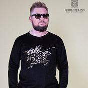 Одежда handmade. Livemaster - original item Space knight sweatshirt». Handmade.