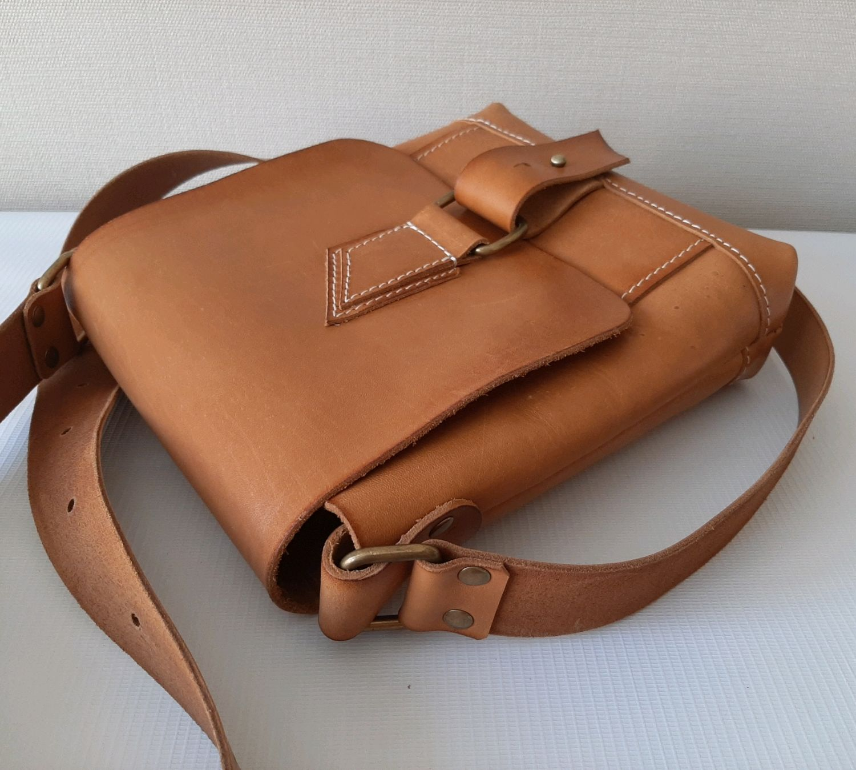 Кожаная сумка на плечо, Сумки, Ейск, Фото №1