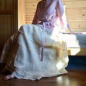 Одежда handmade. Livemaster - original item blouse: Shirt powder linen