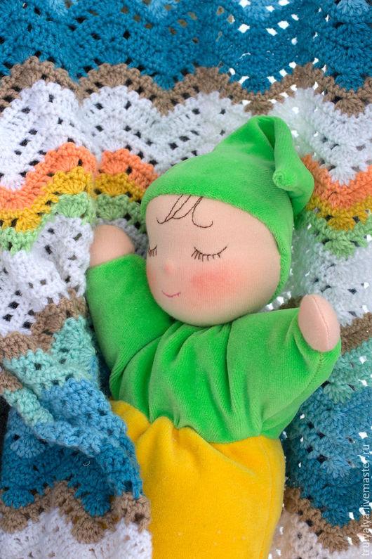 Вальдорфская игрушка ручной работы. Ярмарка Мастеров - ручная работа. Купить Кукла. Handmade. Вальдорфская кукла, кукла для девочки, шерсть