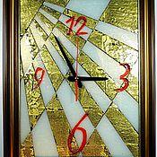 """Для дома и интерьера ручной работы. Ярмарка Мастеров - ручная работа Часы-картина """"Солнце"""". Handmade."""