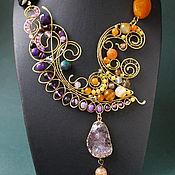 Украшения handmade. Livemaster - original item The necklace Border (option). Handmade.